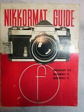 1968 Nikkormat Guide