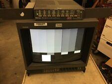 """SONY TRINITRON PVM-1351Q CRT RGB 13"""" COLOR RETRO GAMING VIDEO MONITOR"""