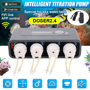 Jebao Smart WiFi Auto DOSER 3.1 2.4 3.4 Aquarium DOSING PUMP Metering Machine AU
