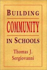Building Community in Schools by Thomas J. Sergiovanni (English) Paperback Book