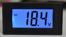 Blue LCD Volt Meter DC 7V-20V Doesn't Require A Power