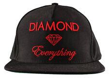 Diamond Supply Co Diamond Black Red Everything Snapback Hat