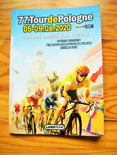 RoadBook Tour de Pologne 2020 cycling cyclisme Tour de France World collection