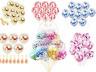 12pcs 30.5cmConfetti Latex Ballons Hélium B-Jour Fête Mariage Bébé Douche L GB