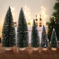 Christmas Snow Tree Table Miniature Home Festival Party Home Decor DIY Gift Mini