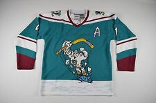 New Vintage Large Anaheim Mighty Ducks Paul Kariya #9 Hockey Jersey Wild Wing