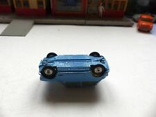 Corgi Toys 226 Morris 'Mini-Cooper' error! pale blue with yellow interior