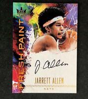 2017-18 JARRETT ALLEN Panini Court Kings Fresh Paint Level 3 Auto RC #042/100