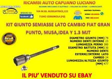 KIT GIUNTO SEMIASSE LATO CAMBIO DESTRO FIAT GRANDE PUNTO IDEA MUSA Y 1.3 JTD MJT