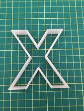 Alphabet Letter X cookie cutter