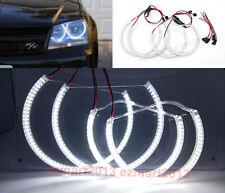 LED halo ring for Dodge Avenger 2008-2014 car Headlight Demon angel eye Xenon WH