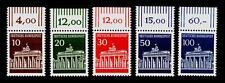 BUND 506-510, Brandenburger Tor ** Satz mit Oberrand, postfrisch Luxus