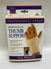 FLA Neoprene Pull-On Thumb Support Compression - Pick Your Color & Size - NEW