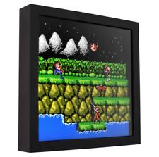 "Contra - 3D Shadow Box Frame (9"" x 9"")"