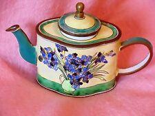 Trade Plus Aid Charlotte di Vita Vincent Iris Miniature Teapot  no 432