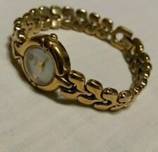 Tone Watch Crystal Works! Bulova Vintage Women's Gold