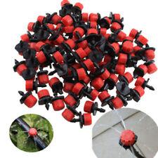 100 Pcs/Lot Garden Adjustable Micro Drip Irrigation Watering Emitter Drippers