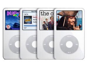 Apple iPod Classic Video 5/5.5th Gen 30GB/60GB/80GB MP3 Player -Warranty