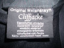 Wellensteyn Cliffjacke Größe M, Details siehe Foto vom Etikett