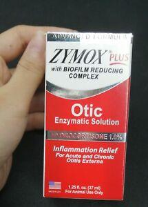 Zymox Plus Advanced Formula Dog&Cat Ear Solution,1.25oz