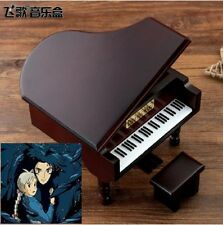 JAPAN SANKYO RED WINE PIANO MUSIC BOX : ♫ HOWLS MOVING CASTLE THEME ♫