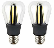 Retro Style Dimmable LED A19 Light Bulb 60W Equivalent, UL Listed, LED Filament