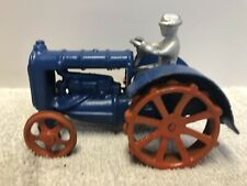 Vintage Antique Arcade Cast Iron Ford son Toy Tractor