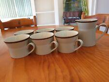Mikasa Stonekraft Cups & Creamer