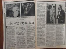 June-1992 Philadelphia Inquirer TV Maga(SCOTT BAKULA/DEAN STOCKWELL/QUANTUM LEAP