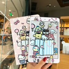 Cute Cartoon Melody Smart Leather Case Cover Stand for iPad Pro iPad Air Mini 4