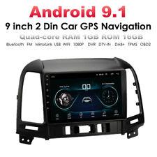 Android 9.0 Car Stereo Radio GPS Head Unit Navigation Dash for Hyundai Santa Fe