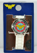 NEW Wonder Woman Spinner Analog Watch with Spinning Cover, Silicone Band