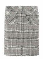 Dorothy Perkins Multi Coloured Check Jacquard Mini Skirt UK Size 14 TD094 BB 16
