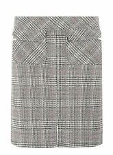 80a87c9ff9 Dorothy Perkins Multi Coloured Check Jacquard Mini Skirt UK Size 14 TD094  BB 16