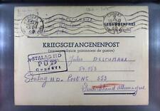Camp Stalag IID Stargard 1940 POW Prisoner of War Kriegsgefangenenpost L29