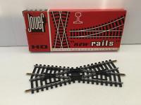 Jouef 4849 HO Gauge 22 Degree Diamond Crossing Steel Rails (153mm)