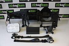 Ford Kuga Dash Board Black Driver Passenger Knee Airbag Kit Seat Belts