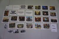 Quadrophenia orig. Aushangfotos  The Who / Sting  24 x Lobbycards + 4 x Fotos