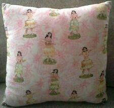 Vintage Hula Hawaiiana Tiki Pillow