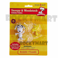 Peanuts Snoopy Joe Cool & Woodstock Bendables - DISCONTINUED & ALMOST GONE