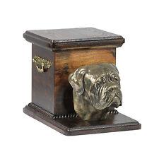 Dogue de Bordeaux, dog urn made of cold cast bronze, ArtDog, UK - kind2