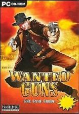 Wanted Guns (PC CD) Brand New & Factory Sealed . Free US First Class Shipping