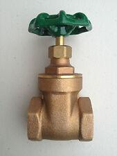 32mm (1 1/4 inch) Brass Gate Valve Water Tank Valve