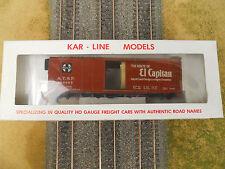 HO SCALE KAR-LINE SANTA FE EL CAPITAN 146285 40' BOX CAR KIT NEW OLD STOCK