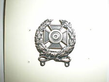 US ARMY EXPERT MARKSMAN BADGE WITHOUT BAR - OXIDIZED
