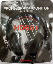 SUPERLUX professional stage headphone HD681 with free shipping to worldwide