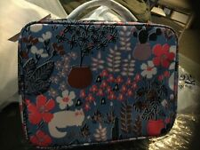 Kate Spade CAT Jae Garden Travel Case Zip Chic NWT $139 Care Bk Original Wrap +