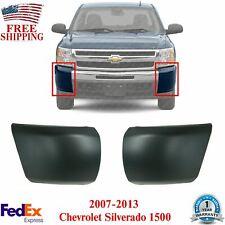 New Listingset Of 2 Front Bumper End Caps Primed For 2007 2013 Chevy Silverado 1500 Fits 2013 Silverado 1500