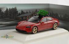 Porsche Taycan turbo S Christmas Edition 2020 limited 1:43 Minichamps Dealer