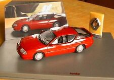 ALPINE RENAULT V6 TURBO ROUGE UNIVERSAL HOBBIES 1/43 RED ROSSO ROT